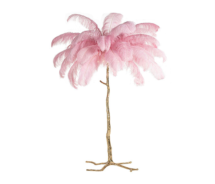 Burlesque Floor Lamp-Pink