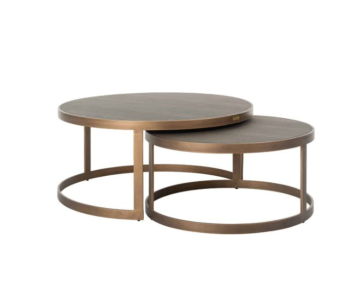 Bloomingville Gold Coffee Table