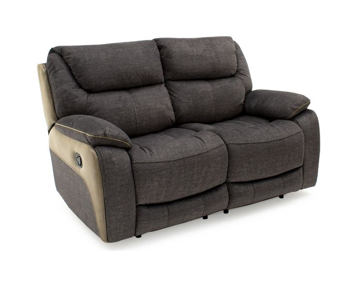 Santiago Grey 2 Seater Recliner