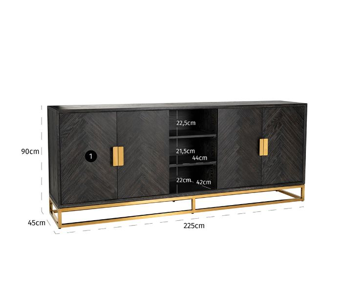 Blackbone Gold Sideboard