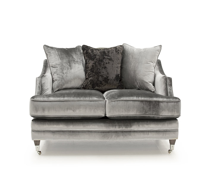 Belvedere 2-Seater  Sofa Pewter