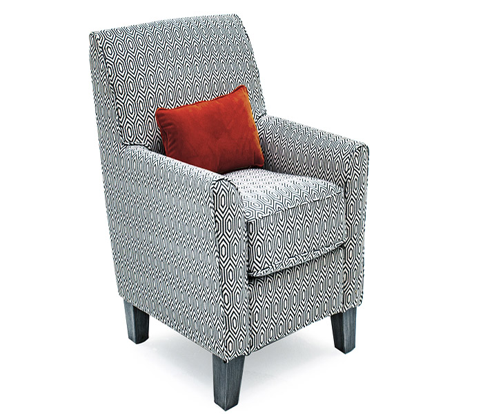 Cantrell Accent Chair-Graphite