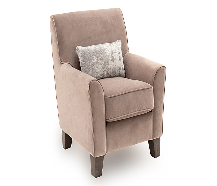 Cantrell Accent Chair-Taupe