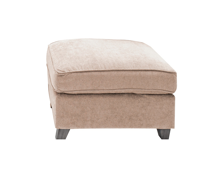 Cantrell Footstool-Almond