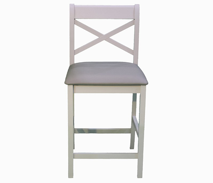 Clermont grey bar stool