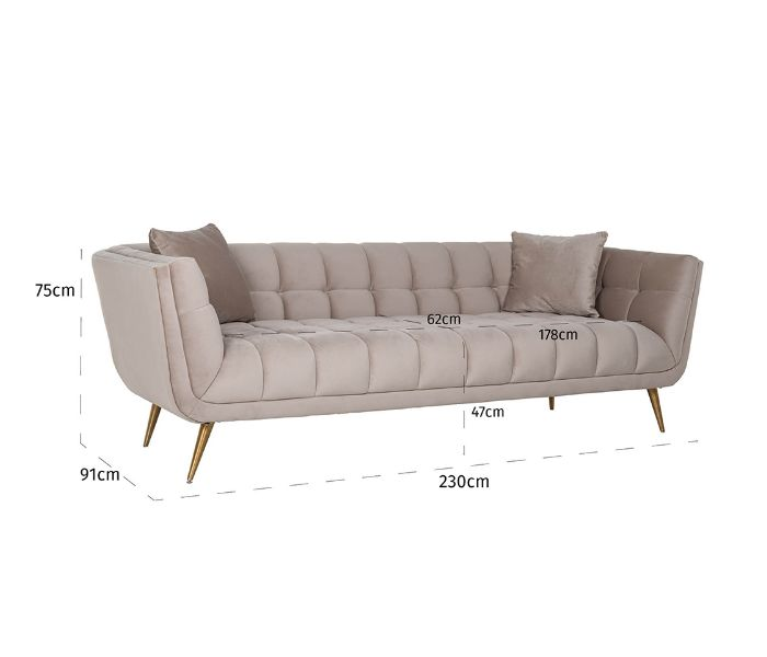 Huxley 3 Seater Sofa