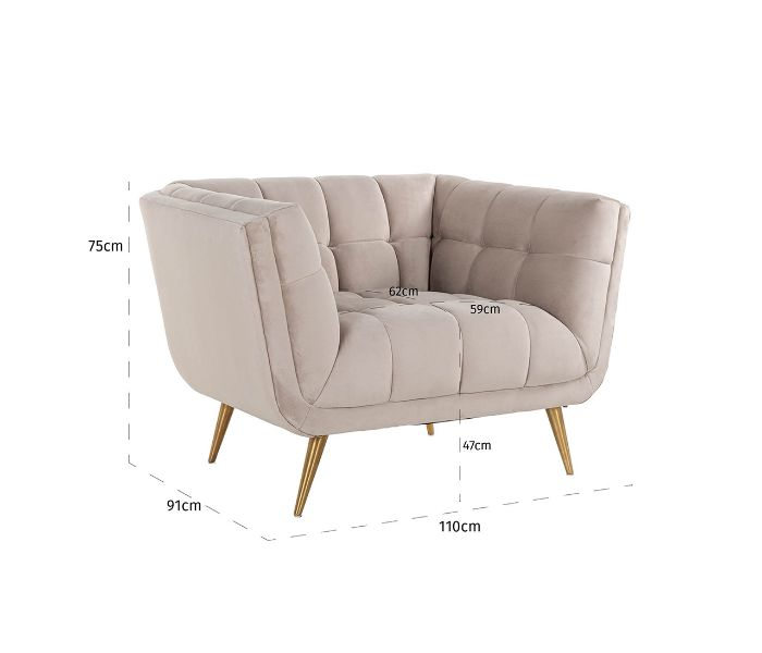 Huxley 1 Seater Sofa
