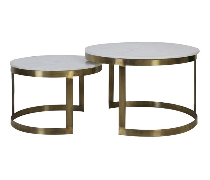 Perlato Coffee Table-Set of 2