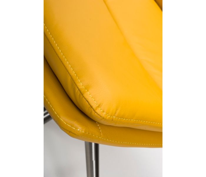 Nobo Ochre Swivel Dining Chair