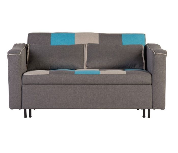 Aspen Teal/Grey Sofa Bed