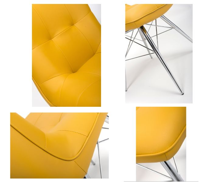 Tampa Ochre Dining Chair