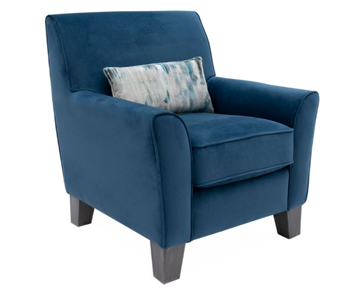 Cantrell Accent Blue Chair
