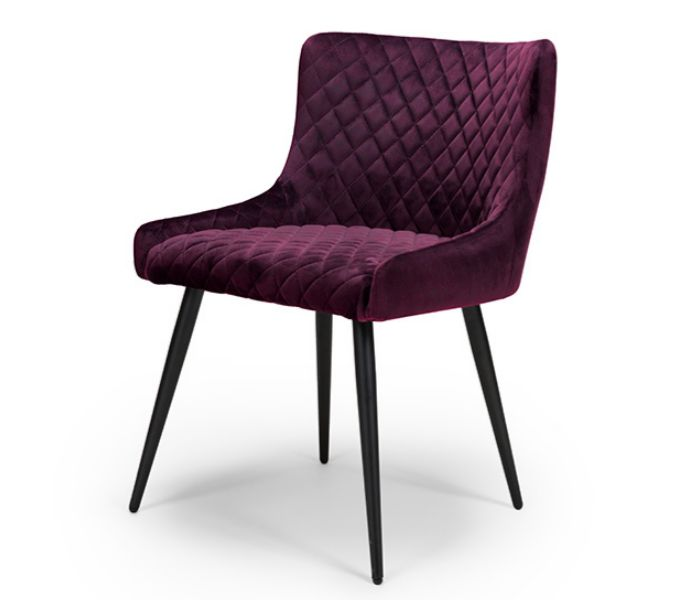 Malmo Mulberry Dining Chair