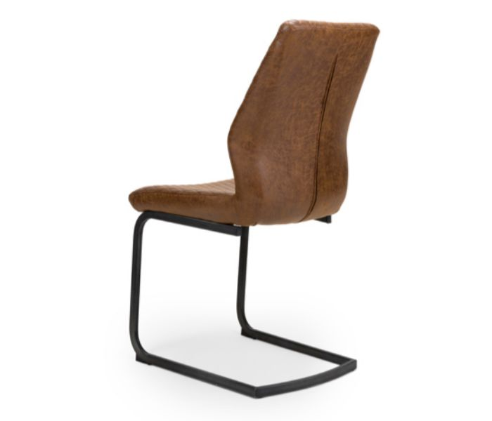 Charlie Antique Brown Dining Chair