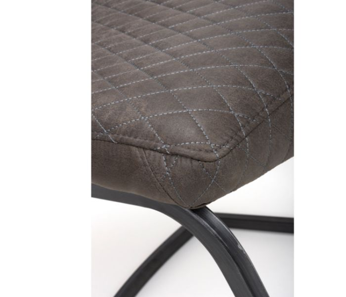 Charlie Grey Dining Chair