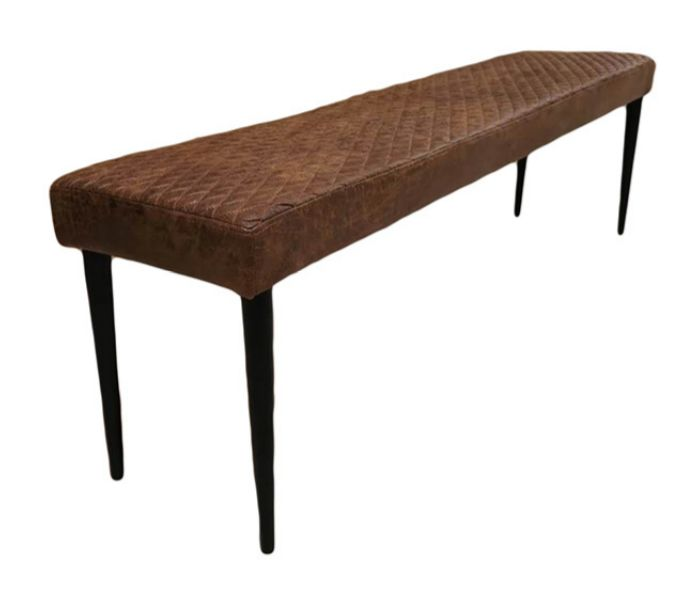 Charlie Antique Brown Bench