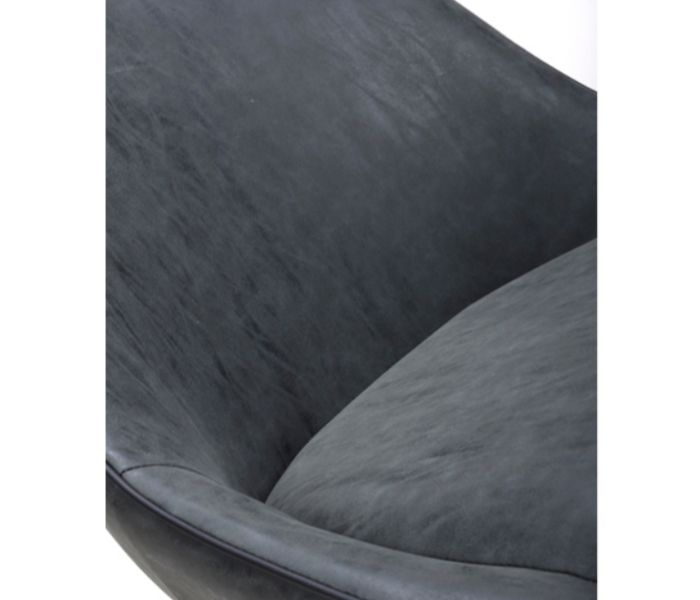 Cooper Wax Grey Dining Chair