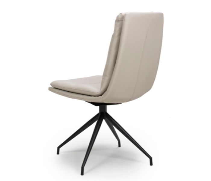 Nobo Taupe Swivel Dining Chair