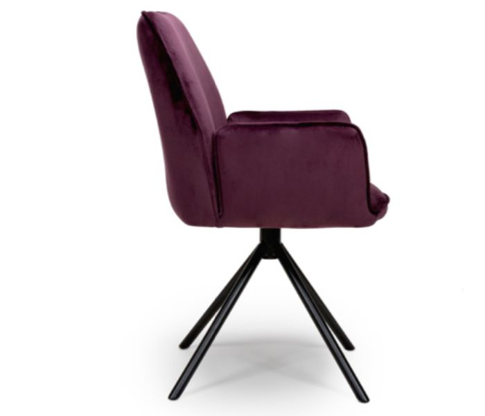 Uno Mulberry Dining Chair