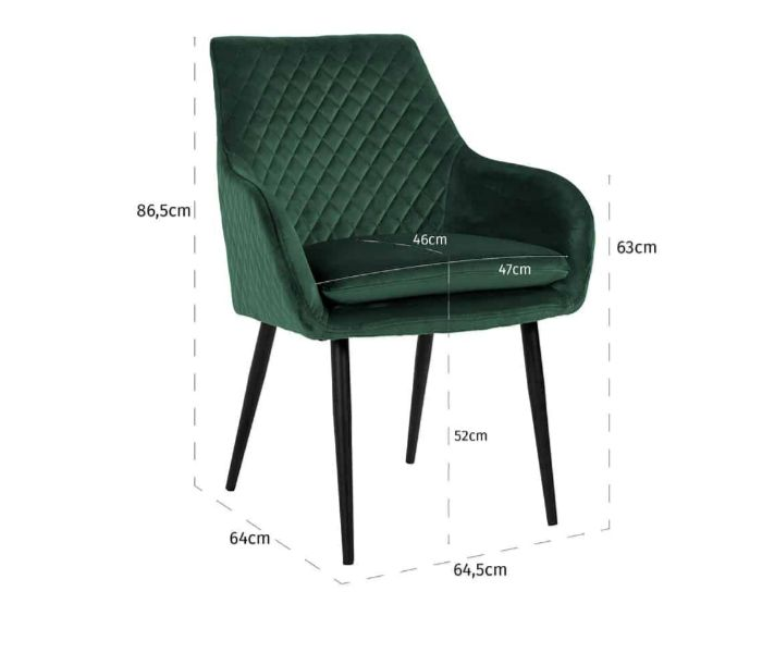 Chrissy Green Dining Chair