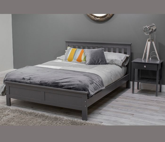 Willow Grey Bed