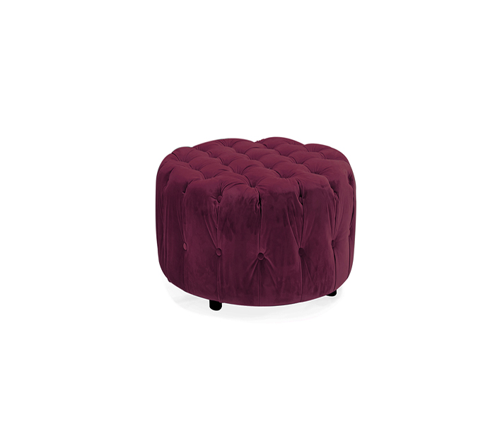 Darby Footstool-Berry