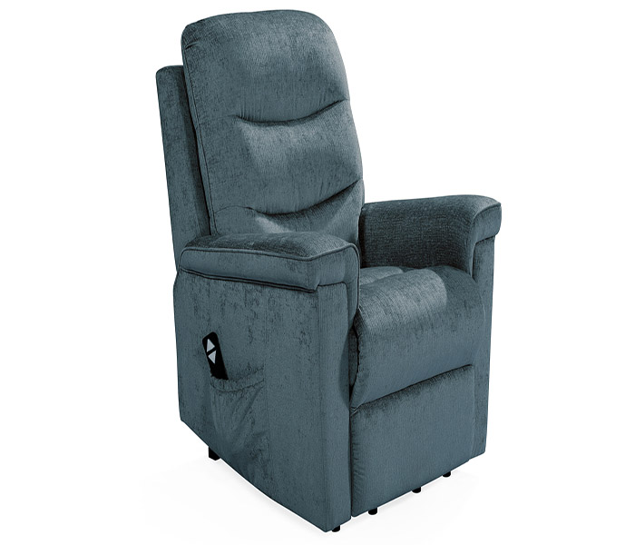 Glencoe Electric Recliner-Charcoal