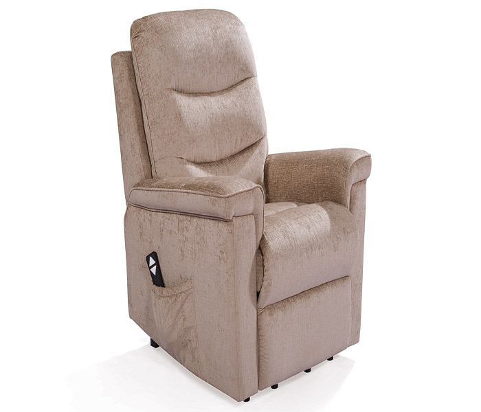 Glencoe Electric Recliner-Mink