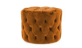 Perkins Pumpkin Foot Stool