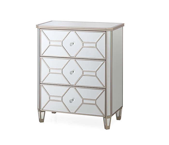 Rosa Dressing Chest-3 Drawer