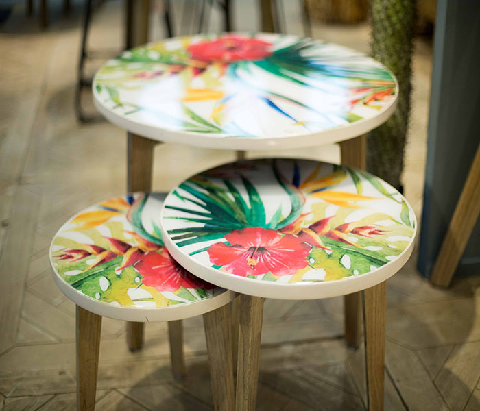 Tropical side Table