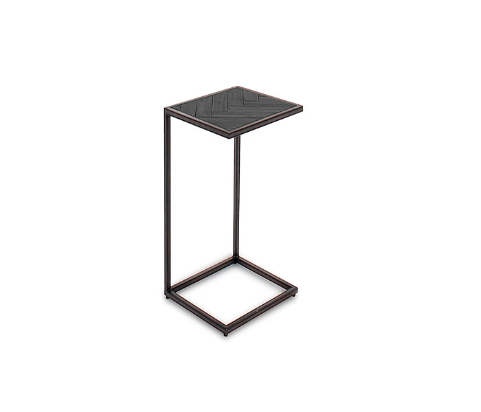 Vanya Drink Table-Dark Brown