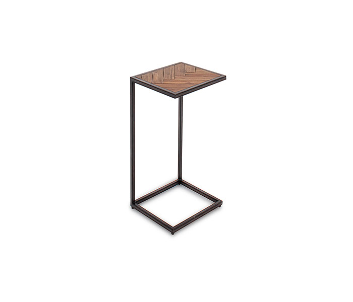 Vanya Drink Table-Light Brown
