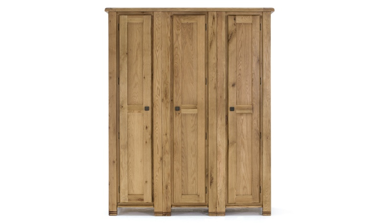 York 3-Door Wardrobe