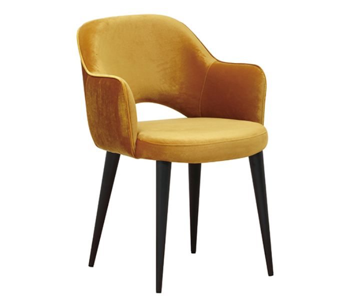 Giovanna Ochre Dinining Chair