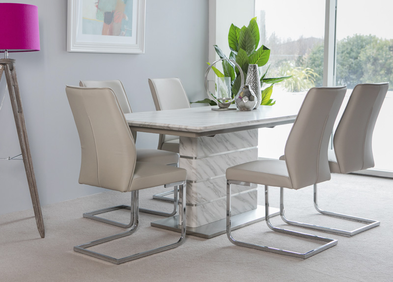 Allure Extending Dining Table: 1600-2200 mm