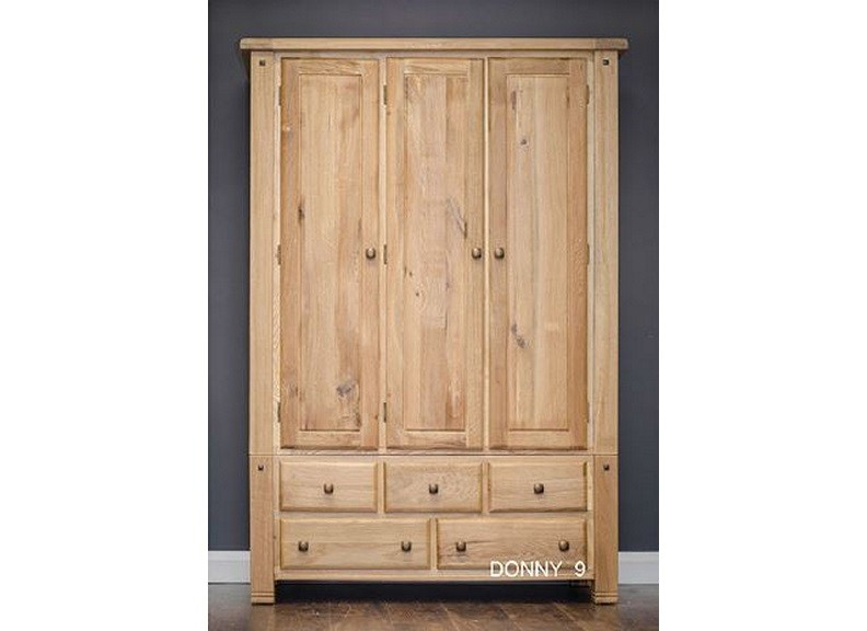 Donny 3-Door Wardrobe