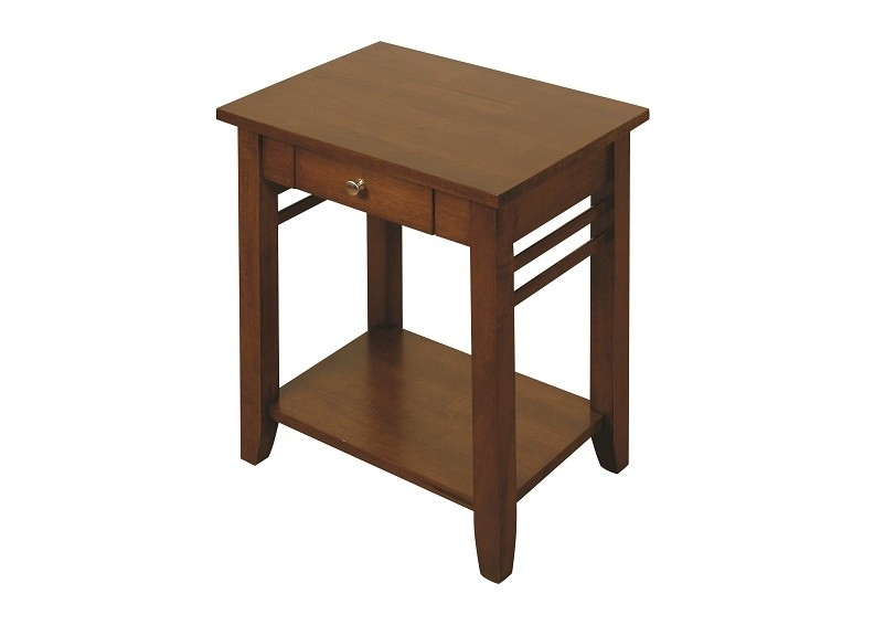 Hanover Dark Brown End Table