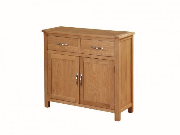 Hartford City Oak 2-Door Sideboard