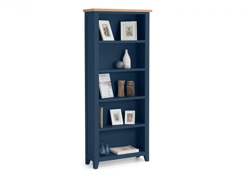 Richmond Blue Bookcase
