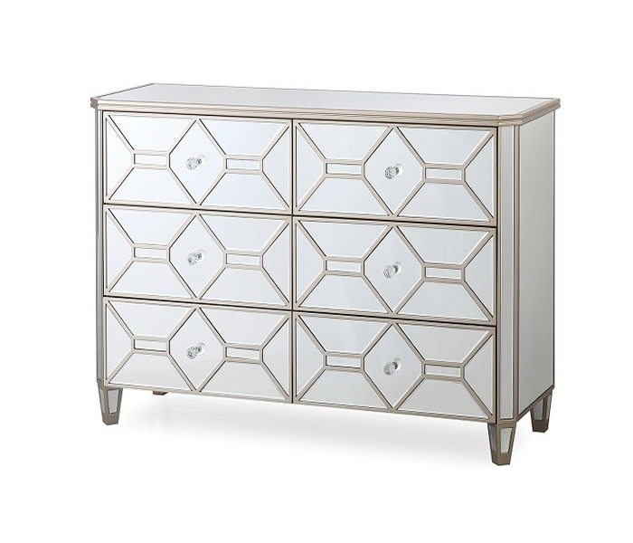 Rosa Dressing Chest-6 Drawer